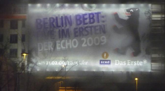 Abenteuer ECHO 2009 – Mit dabei als VIP
