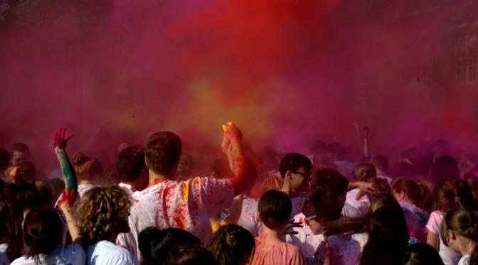 Festival of Colours in Osnabrück – Deine Welt wird bunt!