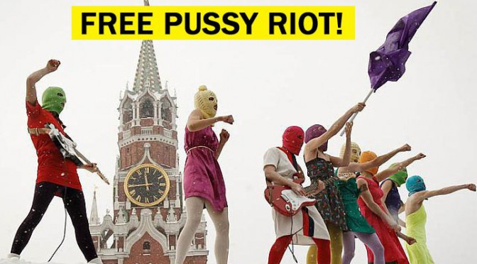 Video: Free Pussy Riot!