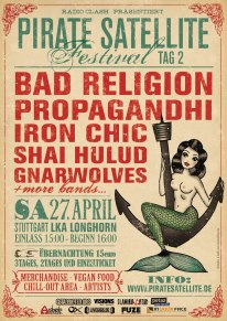 Pirate Satellite Festival u.a. mit Bad Religion und Comeback Kid