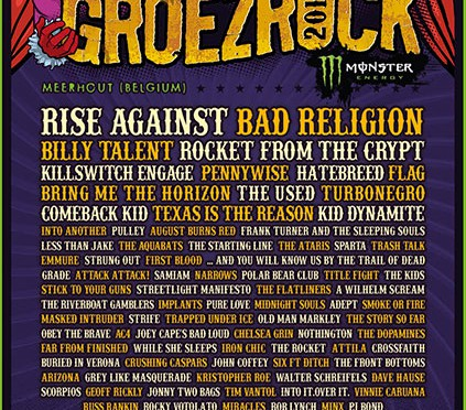 Groezrock 2013: Timetable steht fest