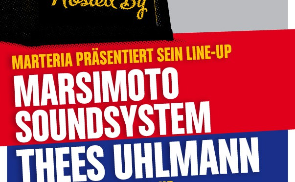 Red Bull Hosted by Events 2013 mit Line-Ups von Marsimoto, Thees Uhlmann und Modeselektor