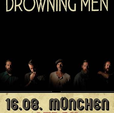 Konzerttipp: The Drowning Men im August auf Tour in Deutschland