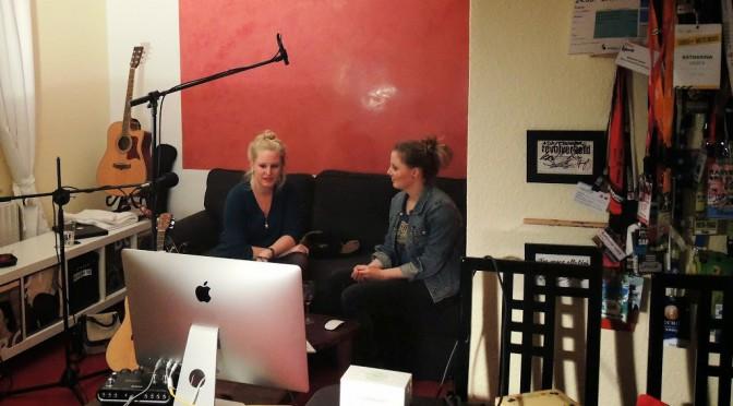 Zum noch mal ansehen: Marie Katzer im LEISE/laut Wohnzimmerkonzert