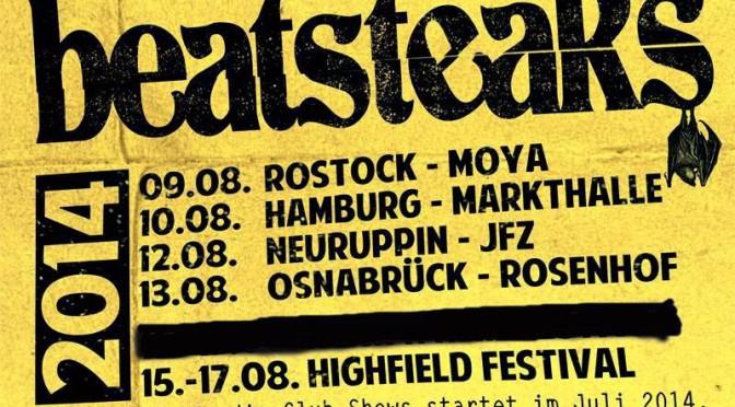 Beatsteaks kommen für Warm-Up-Show in den Rosenhof Osnabrück