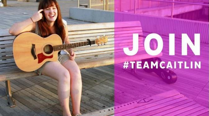 Konzert, Video und Crowdfunding von und mit Caitlin Mahoney aus NYC