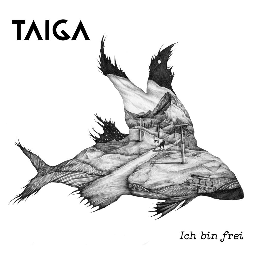 Ich bin frei Taiga Album Cover