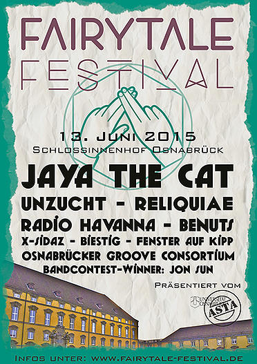 Plakat Fairytale Festival 2015