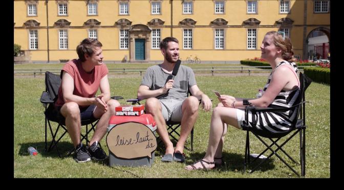 Revolverheld im Interview mit LEISE/laut