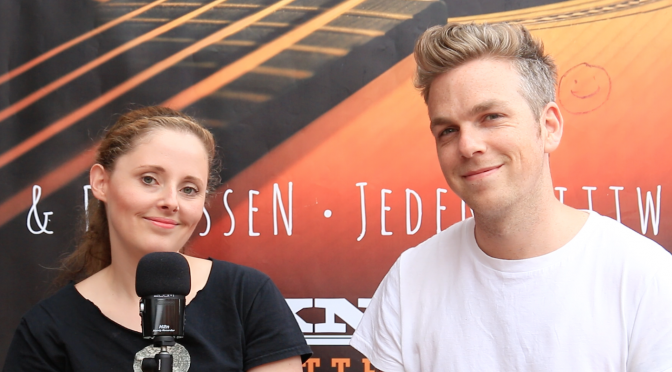 Video: Greg Holden im Interview mit LEISE/laut