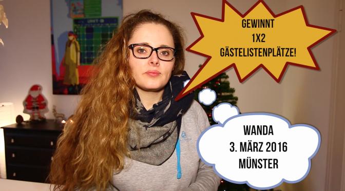 Wanda im Adventskalender Türchen 20 – Gewinnt 1×2 Tickets!