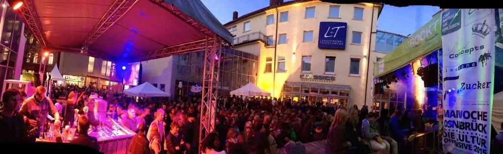 Timezone Bühne Maiwoche 2015