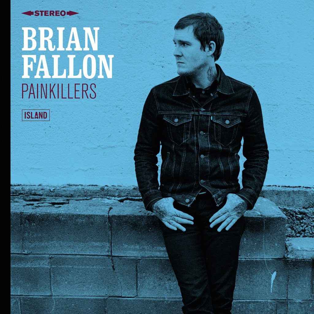 Brian Fallon Painkillers Albumcover - CMS Source