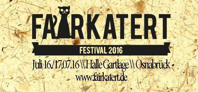 Fairkatert Festival – Chillig Elektronisches und mehr in Osnabrück
