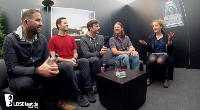 Von Piraten und Crowdsurfern bei Jimmy Eat World | Interview