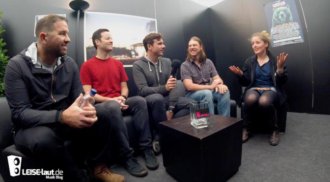 Von Piraten und Crowdsurfern bei Jimmy Eat World | Interview