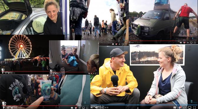 Geballter Vlog-Wahnsinn vom Hurricane Festival 2017
