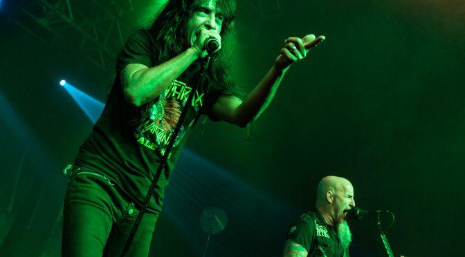 Laut und cool – Anthrax im Hyde Park Osnabrück