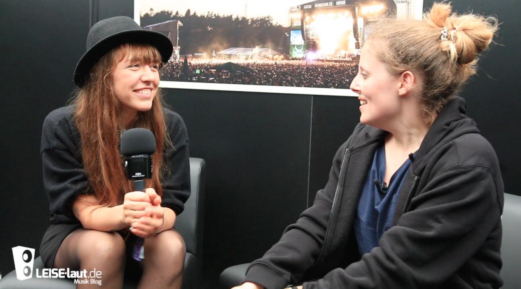 Antje Schomaker Hurricane Festival Interview Katharina leuck leiselaut