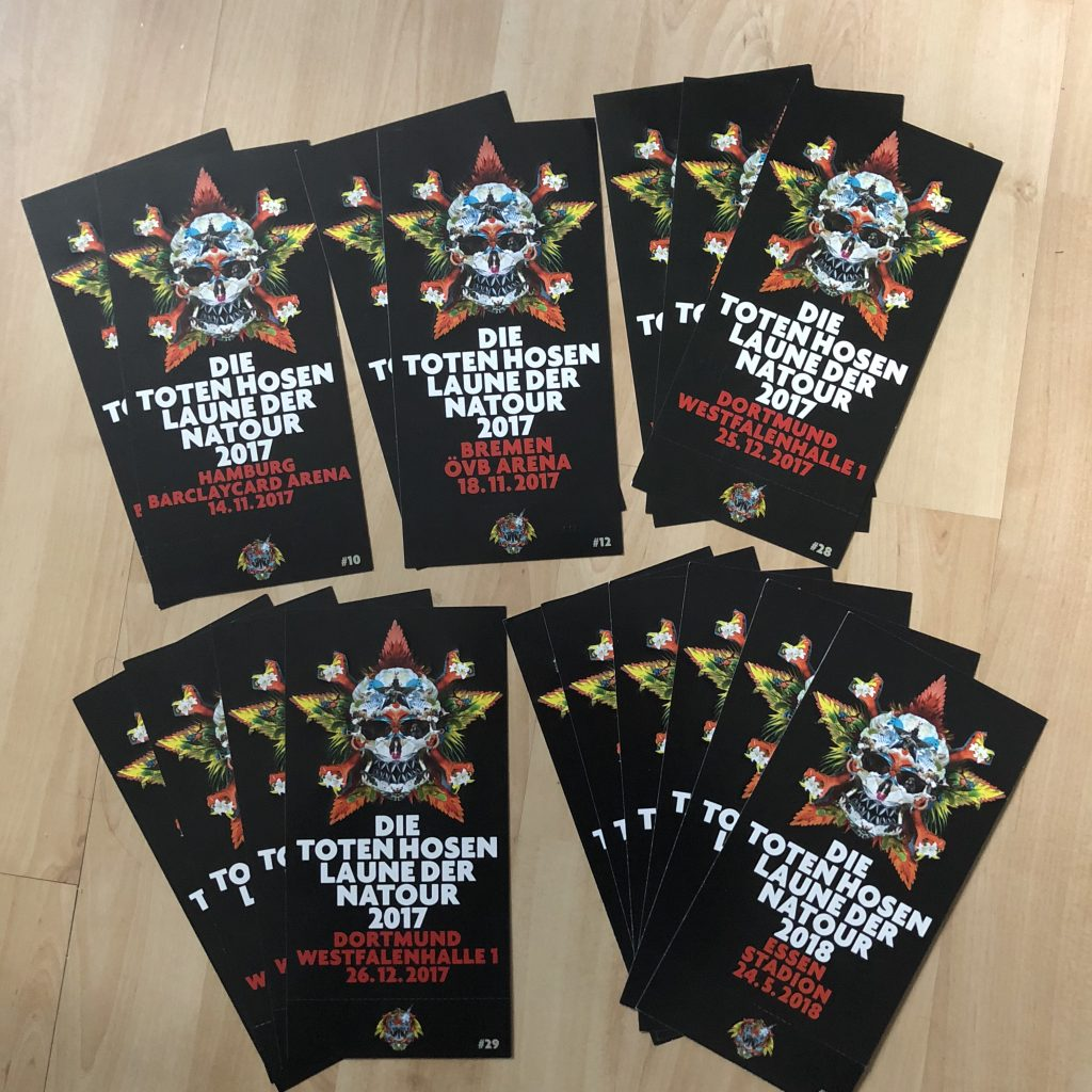 Die Toten Hosen, Tickets, Laune der Natour