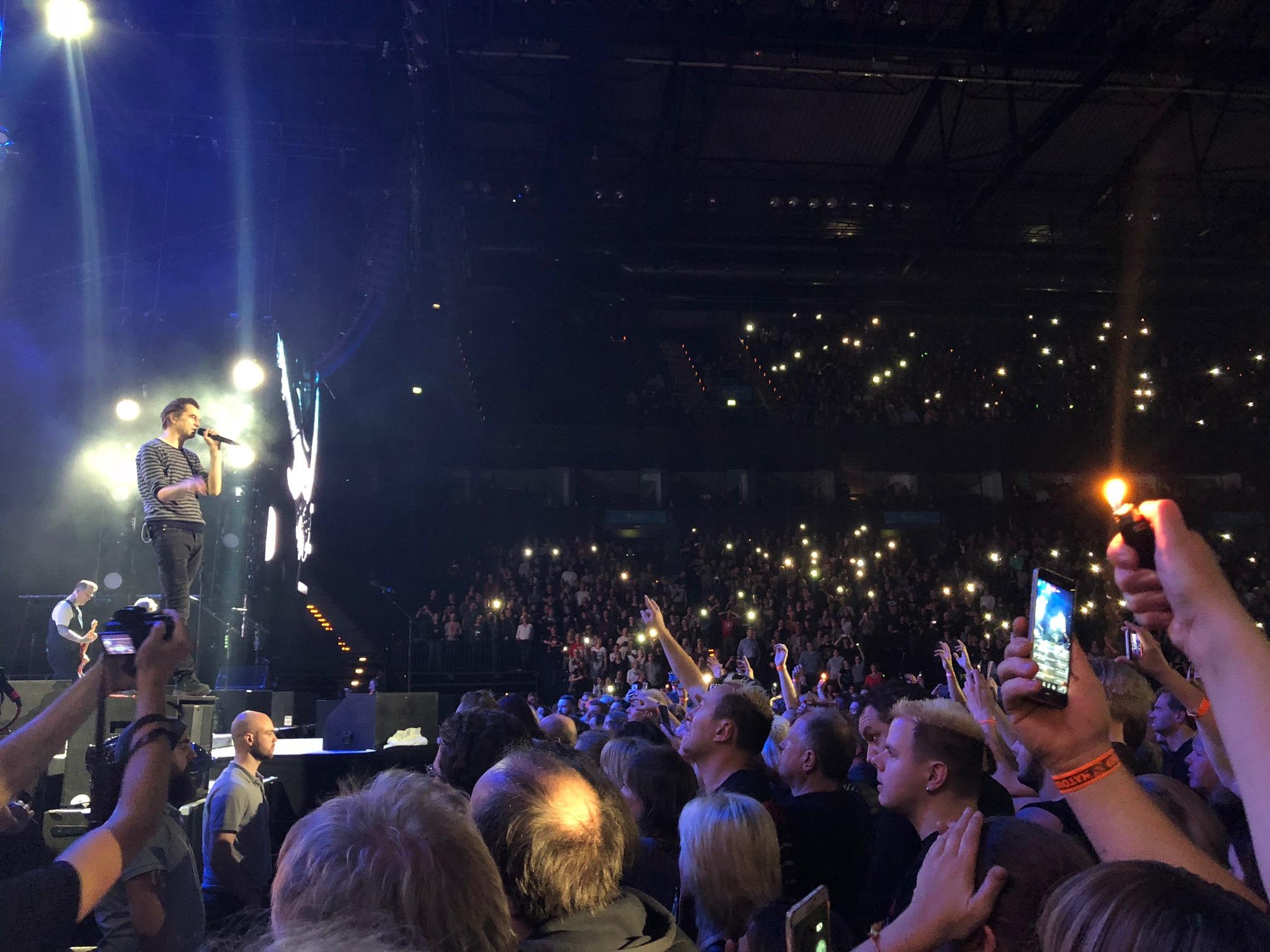 Die Toten Hosen, Barclaycard Arena, Laune der Natour